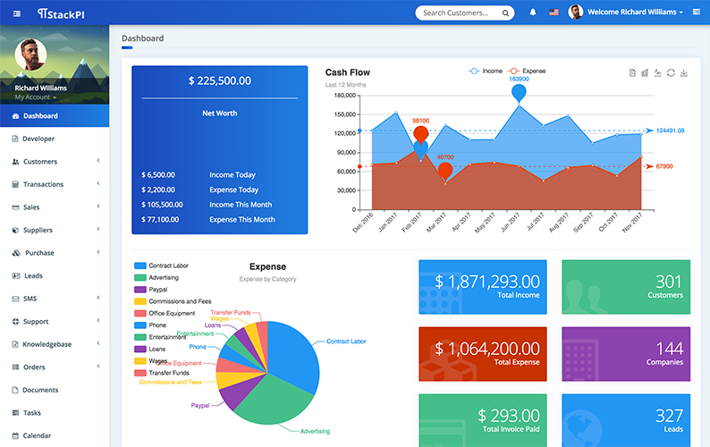 Business Suite Dashboard